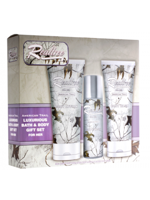 Realtree American Trail for Her  Bath/Body 3 Piece Gift Set