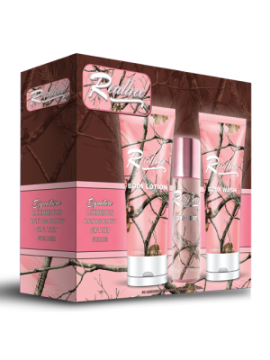 Realtree for Her  Bath/Body 3 Piece Gift Set
